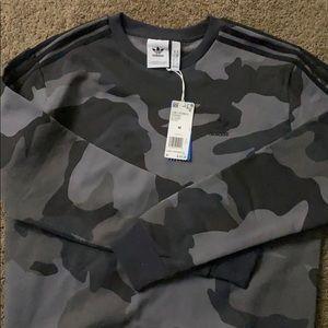 Adidas camouflage crewneck
